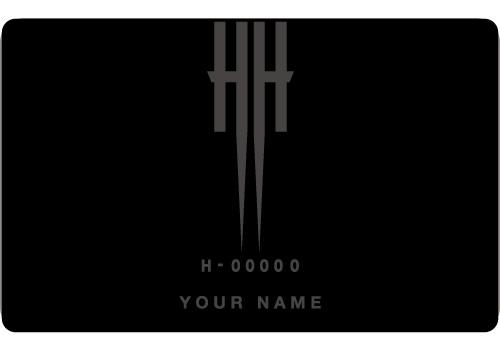 HERESY MEMBER'S CARD